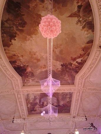So sah der Luftballonregen von unten aus ;-)