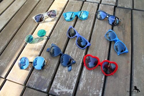 Sonnenbrillensammlung